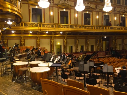 View from Maestro Neely's seat