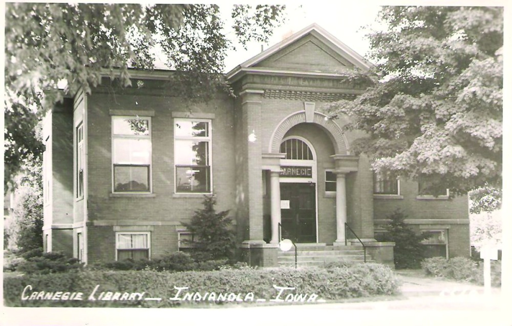 Carnegie Library postcard 1911